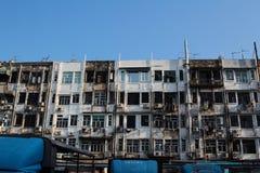 sai kung的香港老牌房子 免版税库存图片