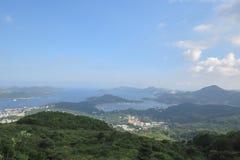 sai kung镇hk 2014年9月9日 库存照片