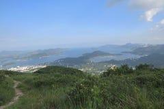 sai kung镇hk 2014年9月9日 图库摄影