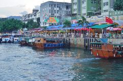Sai Kung στα νέα εδάφη του Χονγκ Κονγκ στοκ φωτογραφία με δικαίωμα ελεύθερης χρήσης