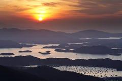 Sai Kung am Morgen lizenzfreie stockfotografie