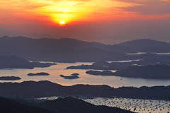Sai Kung at morning Stock Photography