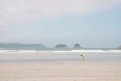 Sai Kung plaża Zdjęcia Stock