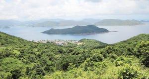 Sai Kung wieś w Hong kong zdjęcia royalty free