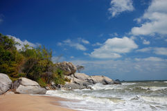 Sai Noi beach Royalty Free Stock Images