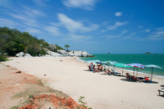 Sai noi beach Stock Photo
