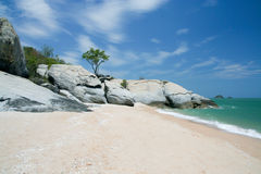 Sai noi beach Stock Photos