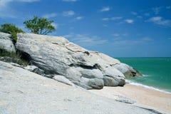 Sai noi beach Royalty Free Stock Photo
