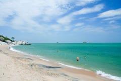 Sai noi beach Royalty Free Stock Photography