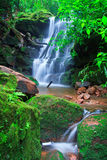 Sai Thip waterfall at Phu Soi Dao national park Stock Photos
