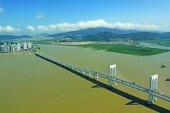 Sai Van Мост, Макао, Китай Стоковые Фото