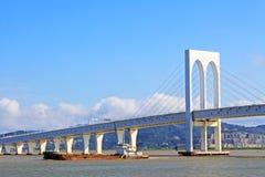 Sai Van Мост, Макао, Китай Стоковое Изображение