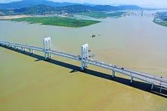 Sai Van Мост, Макао, Китай Стоковые Фотографии RF