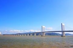 Sai Van Мост, Макао, Китай Стоковая Фотография RF