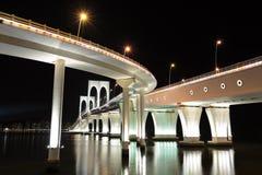 Sai Van bridge. In Macao Stock Images