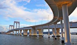 Sai Van bridge. In Macao Royalty Free Stock Images