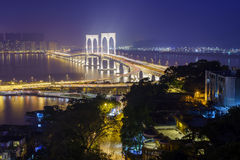 Sai Van bridge Lizenzfreies Stockbild
