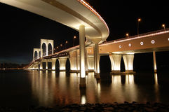 Sai Van bridge, Macao Royalty-vrije Stock Foto