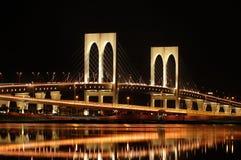 Sai Van bridge, Macao Stock Afbeelding