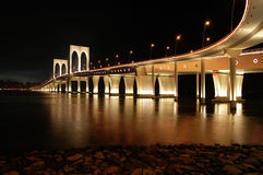 Sai Van bridge, Macao royalty-vrije stock foto's