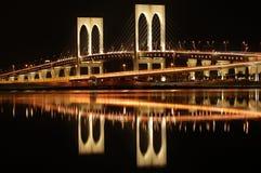 Sai Van bridge, Macao stock foto's