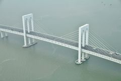 Sai Van bridge in Macao royalty-vrije stock fotografie