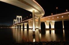 Sai Van bridge, Macau Foto de archivo libre de regalías