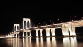 Sai Van bridge in Macau Stock Image
