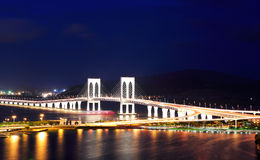 Sai Van bridge in Macau Royalty Free Stock Image
