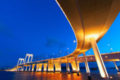 Sai Van bridge in Macau Stock Photo