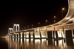 Sai Van ponte, Macau fotografia de stock royalty free