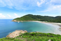 Sai Wan bay in Hong Kong Royalty Free Stock Images