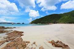 Sai Wan beach Royalty Free Stock Images