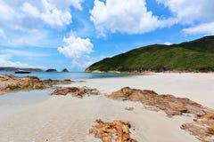 Sai Wan beach. In Hong Kong Stock Image