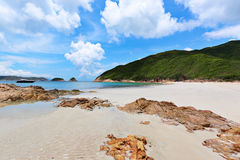 Sai Wan beach Stock Image