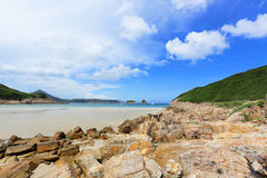 Sai Wan beach Royalty Free Stock Image