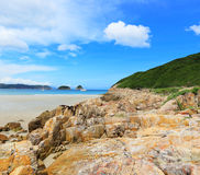 Sai Wan beach Stock Photo