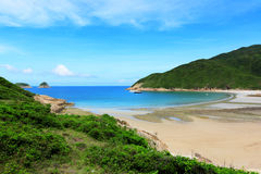 Sai Wan beach in Hong Kong Royalty Free Stock Photography