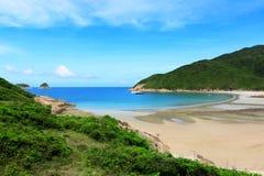 Sai Wan beach in Hong Kong Royalty Free Stock Photography