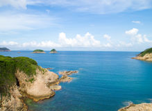 Sai Wan Island. In Hong Kong Stock Image