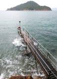 Sai Wan Swimming Shed Immagine Stock