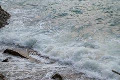 Sai Wan Swimming Shed in Hong Kong immagini stock libere da diritti