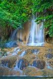Sai Yok Noi vattenfall i Thailand Royaltyfria Foton