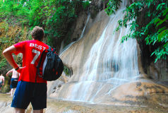 Sai Yok Noi Waterfall Stock Image