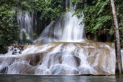 Sai Yok Noi Waterfall Kanchanaburi, Thailand Royaltyfri Bild