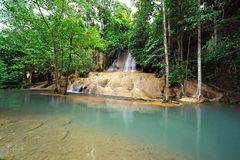 Sai yok Noi waterfall, kanjanaburi Thailand Stock Photography