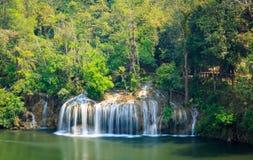 Sai Yok waterfall Royalty Free Stock Photo