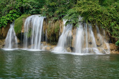 Sai Yok Yai falls at Sai Yok National Park. Stock Images