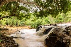 Sai-Zapfenwasserfall Stockfotografie