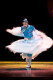 Saia de voo--Dança popular chinesa Fotografia de Stock Royalty Free